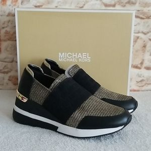 New Michael Kors Felix Trainer Sneakers